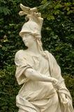 Франция, мраморная статуя в парке дворца Версаль Стоковое Фото