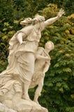 Франция, мраморная статуя в парке дворца Версаль Стоковые Фото