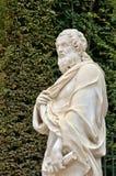 Франция, мраморная статуя в парке дворца Версаль Стоковые Фотографии RF