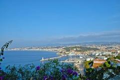 Франция, панорама славного стоковое изображение rf