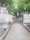 Франция, Париж, кладбище Pere Lachaise Стоковое Изображение