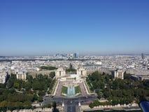 Франция - Париж, Palais de Chaillo Стоковое Изображение RF