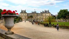 Франция - Париж (Palais du Люксембург) Стоковое Изображение