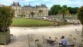 Франция - Париж (Palais du Люксембург) Стоковое Изображение RF