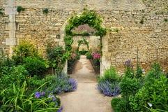 Франция, сад замка канона в Normandie стоковая фотография rf
