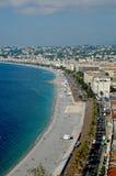 Франция, славная, anglais променад стоковое изображение