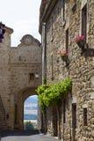 Франция, Auvergne, деревня Montpeyroux Стоковые Фото