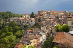 Франция, Auvergne, Thiers Стоковое Изображение RF