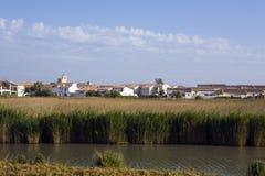 Франция - Camargue - Les Saintes Мари de Ла Прост стоковые фото