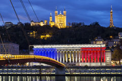 Франция lyon Стоковое Изображение