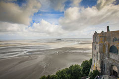 Франция, Normandie, Mont St Michael Стоковые Фото