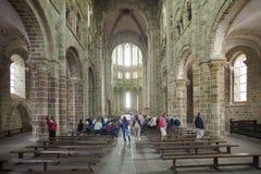 Франция, Normandie, Mont St Michael Стоковые Фотографии RF