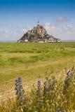 Франция, Normandie, Mont St Michael Стоковые Изображения RF