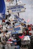 Франция paris 03 09 2016 Гигантская демонстрация против социалистического правительства связала к реформе закона о труде Стоковая Фотография