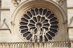 Французская архитектура - сожмите принимать визирования взгляда снаружи, без характера и дня Стоковая Фотография