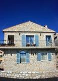 французская дом Стоковое Изображение