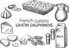 Французская кухня Стоковые Фотографии RF