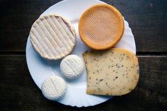 Французская плита сыра Стоковое Изображение RF