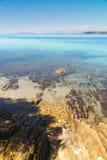 Французская ривьера около St Tropez - фото долгой выдержки стоковые изображения rf