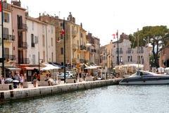 Французская ривьера порта St Tropez стоковое фото
