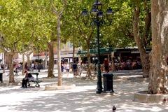 Французская ривьера des Lys места St Tropez стоковые изображения