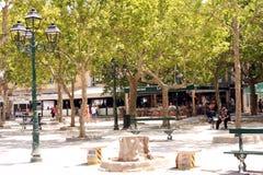 Французская ривьера des Lys места St Tropez стоковое изображение