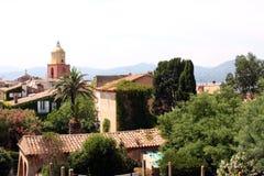 Французская ривьера St Tropez стоковые фото