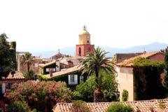Французская ривьера St Tropez стоковая фотография rf