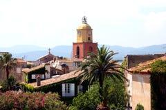 Французская ривьера St Tropez стоковое изображение rf