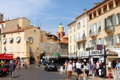 Французская ривьера St Tropez стоковое фото