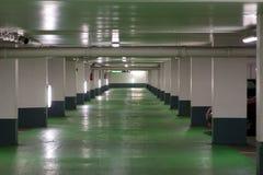 французская стоянка автомобилей гаража Стоковая Фотография