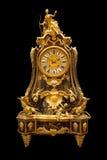 Французская форма часов каминной доски 1730's Стоковое Фото