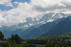 Французские Альпы Стоковое Изображение