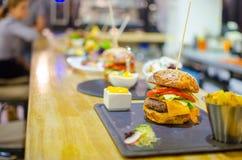 Французские бургеры Стоковое Фото