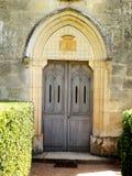 Французские двери часовни Стоковая Фотография