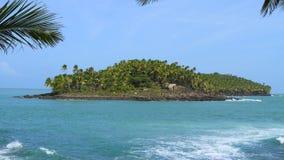 Французские Гвианы, Iles du Salut (острова спасения): Остров дьяволов стоковое изображение rf