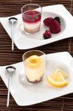 Французские десерты плодоовощ Стоковые Изображения