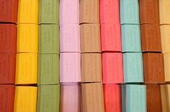 французские мыла Стоковые Фотографии RF