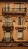 французские окна Стоковая Фотография