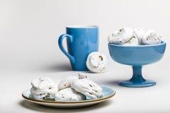 Французские печенья меренги Стоковые Фотографии RF