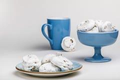 Французские печенья меренги Стоковая Фотография RF