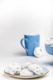 Французские печенья меренги Стоковое Изображение