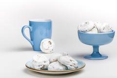 Французские печенья меренги Стоковое Фото