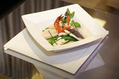 французские продукты моря салата Стоковые Изображения