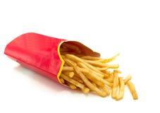 французские свежие fries горячие Стоковая Фотография RF
