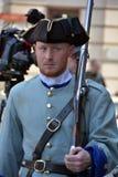 Французские солдаты режима Стоковые Изображения RF