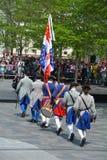 Французские солдаты режима Стоковое фото RF