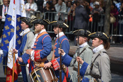 Французские солдаты режима Стоковое Изображение RF