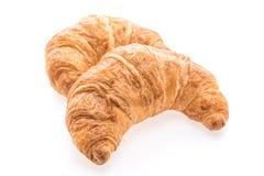 Французские хлеб и хлебопекарня круассана масла Стоковое Фото