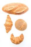 Французские хлеб и хлебопекарня круассана масла Стоковая Фотография RF